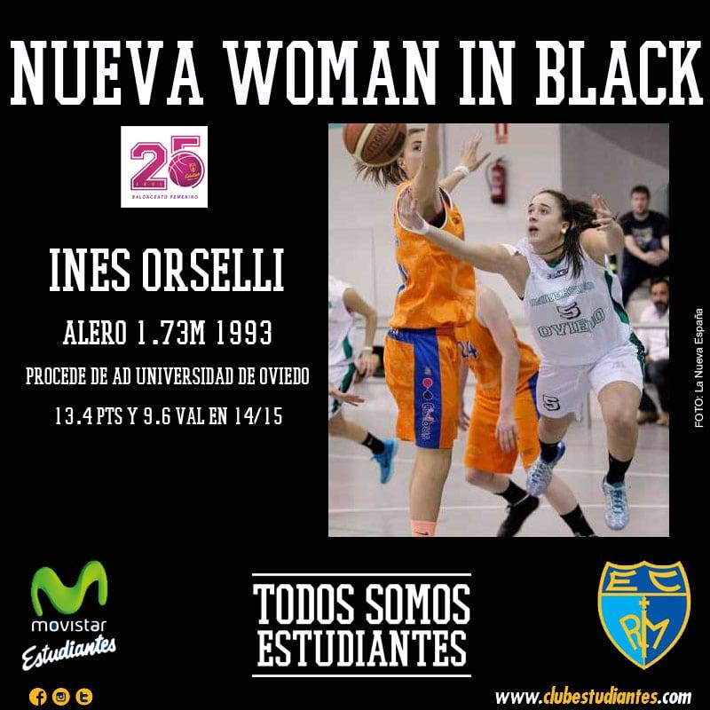 """La exterior Inés Orselli, nueva """"woman in black"""""""