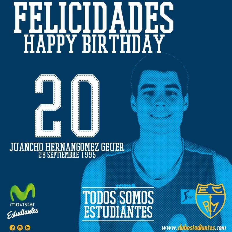 ¡Felices 20, Juancho! Felicitale el cumpleaños en su Twitter