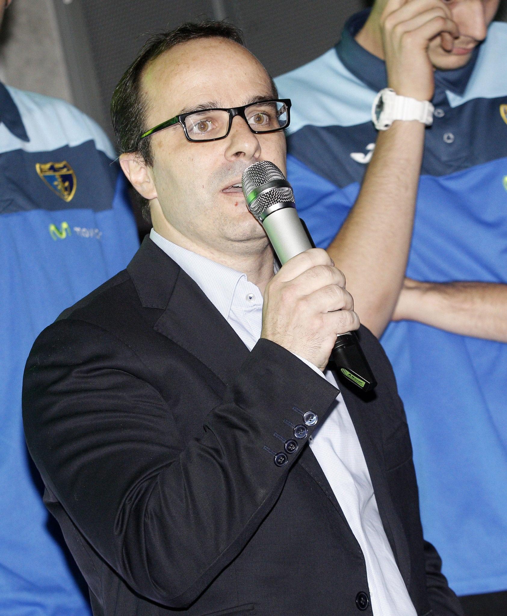 """Diego Ocampo: """"Queremos jugar con espíritu, que la afición salga orgullosa cada partido"""""""