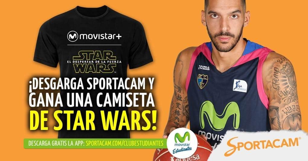 Pregunta a Nacho Martín en Sportacam. ¡Puedes ganar la camiseta de Star Wars!