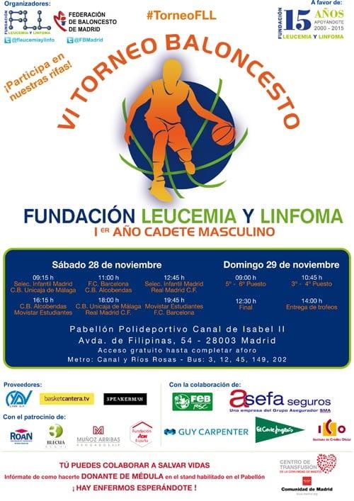 Llega la sexta edición del torneo solidario Fundación Leucemia y Linfoma