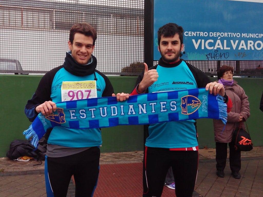 #EstuSanSilvestre : cerraron 2015 corriendo y fardando de equipo, y eso tiene premio