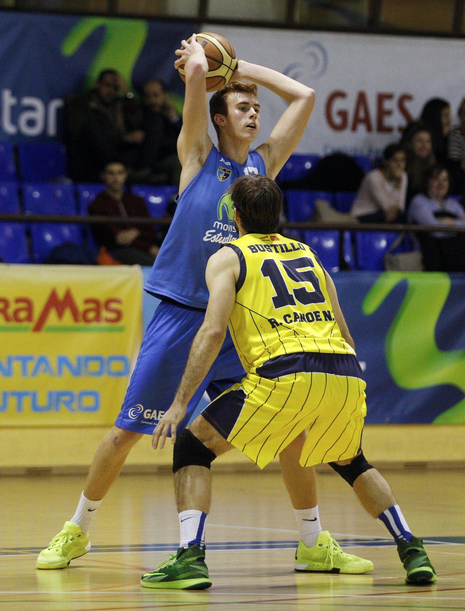EBA: El filial de Movistar Estudiantes pierde ante un duro Náutico Kia Tenerife (90-64), acertado en el tiro y muy superior en el rebote