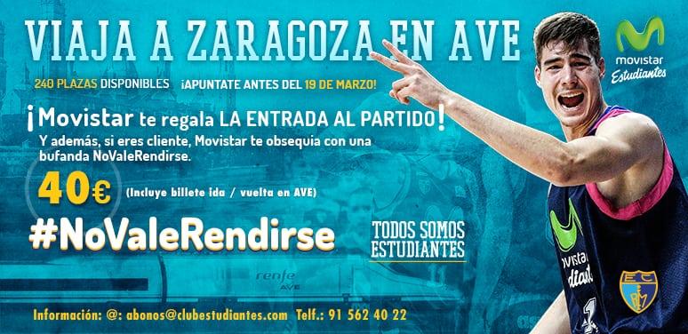 """Agotadas las plazas para el tren """"No Vale Rendirse"""" a Zaragoza"""