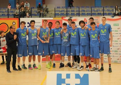 F4 Junior Masculina de Madrid: terceros y al Campeonato de España