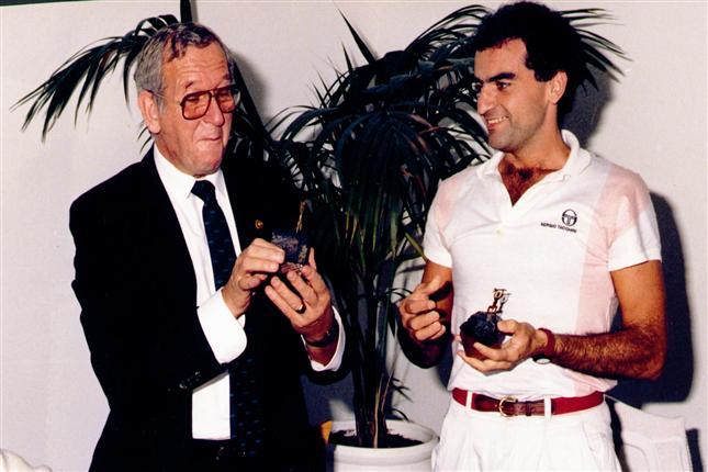 Condolencias por el fallecimiento de Ángel Sancha, histórico del arbitraje español