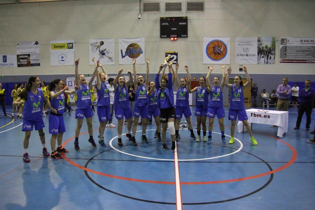 Campeonas y Subcampeones de Madrid en categoría infantil y al Campeonato de España por la puerta grande