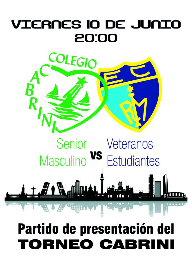 Los veteranos de Movistar Estudiantes en la presentación del Torneo Cabrini el viernes 10