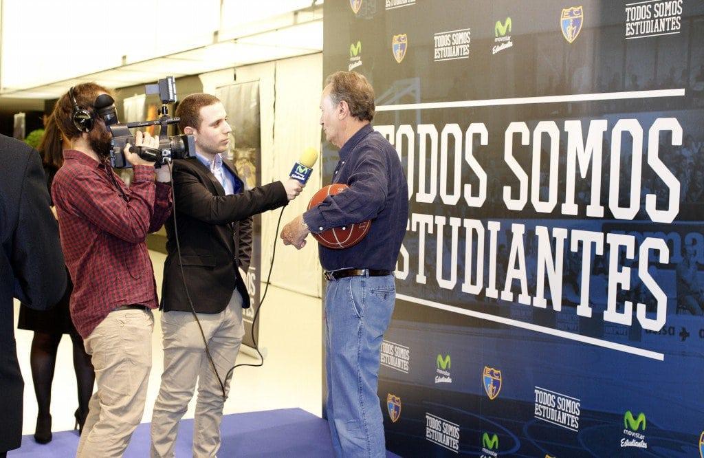 Todos Somos Estudiantes: las entrevistas. Pasaron por EstuTV Joseja Hombrados, Jordi Villacampa, Martín Fiz, Pirri, Aíto, Chema Alonso…