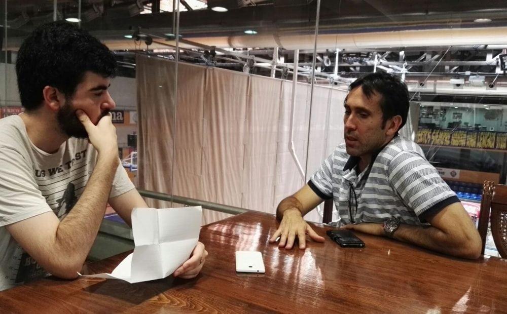 Las primeras entrevistas de Willy Villar, en Pobla FM y Kia en Zona