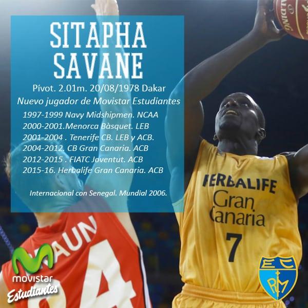 Sitapha Savané, experiencia para la pintura de Movistar Estudiantes