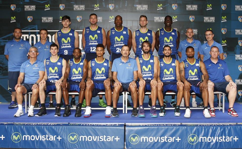 Así se hizo la foto oficial de Movistar Estudiantes 2016-17 Liga Endesa