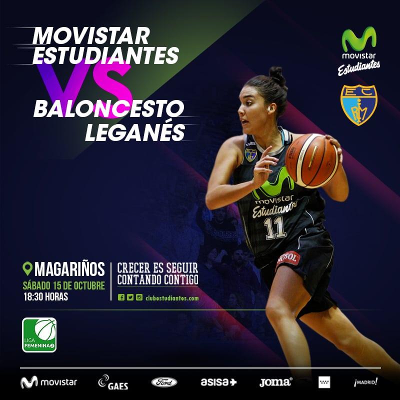 """Las """"women in black"""" vuelven a verse las caras con el Baloncesto Leganés (sábado 18:30, Magariños)"""