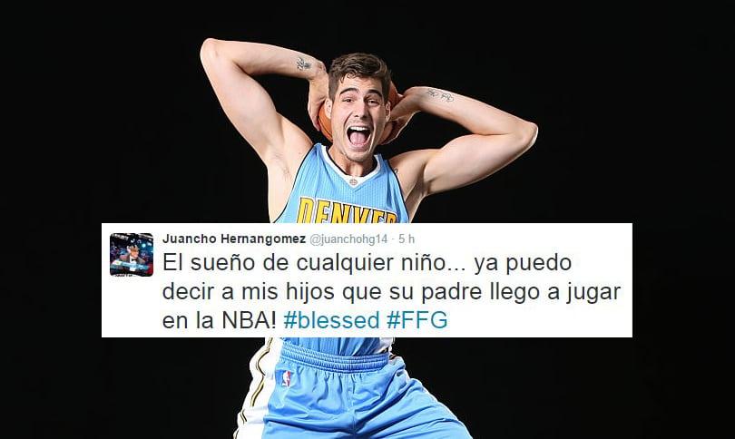 39 segundos para la historia: Juancho Hernangómez se convierte en el cuarto canterano de Movistar Estudiantes en debutar en la NBA