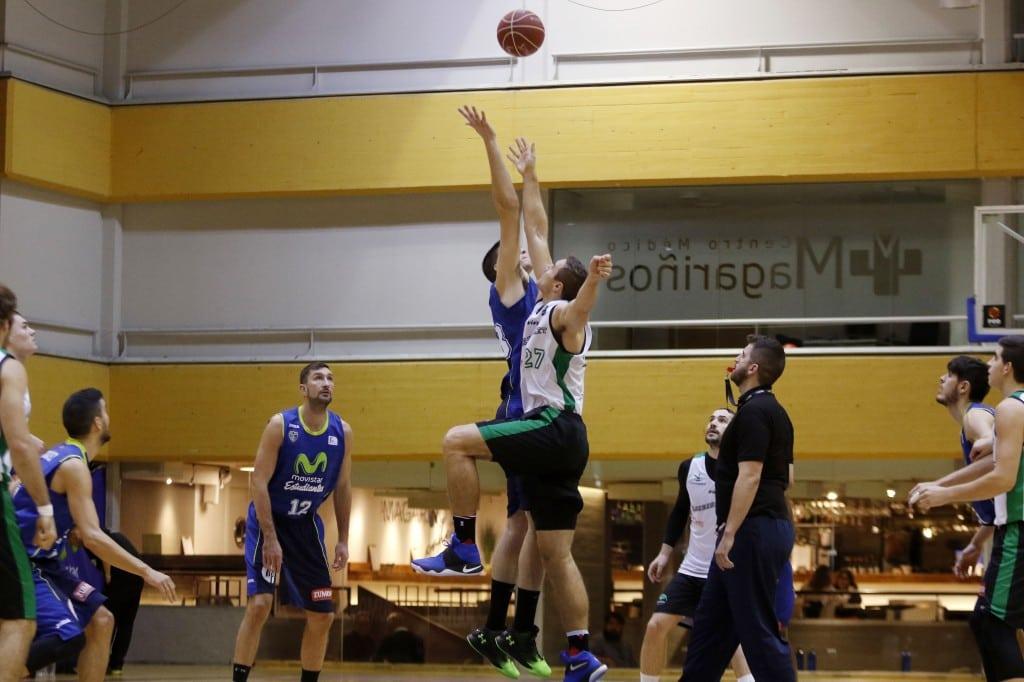 Partido de entrenamiento contra Cáceres Basket para no perder el ritmo de competición en el parón