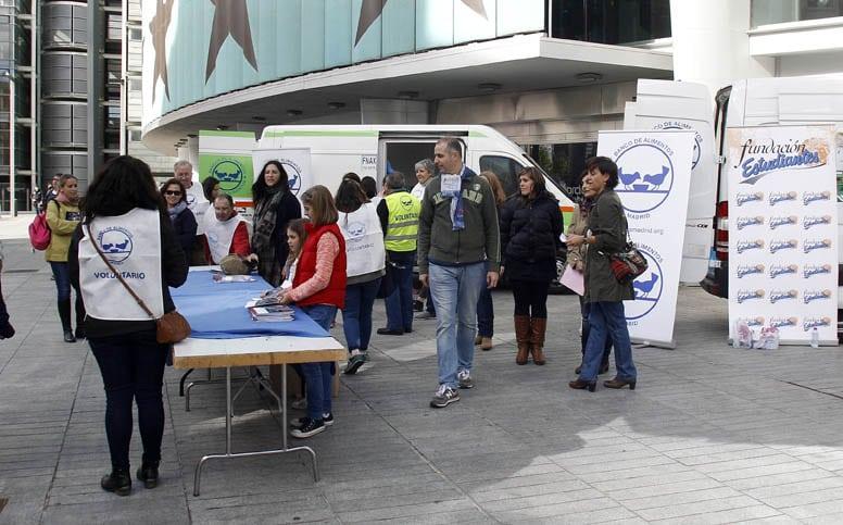 El Banco de Alimentos de Madrid necesita voluntarios para su Gran Recogida