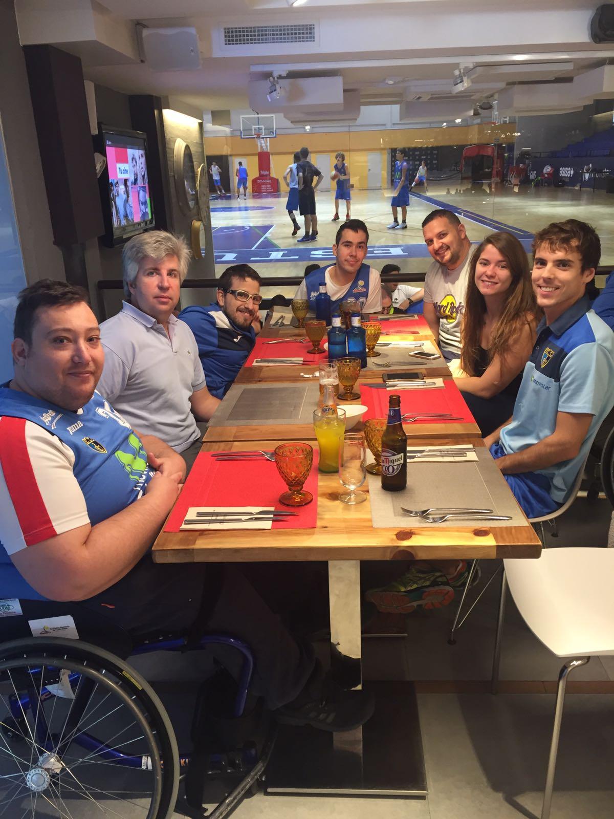 El Polideportivo Magariños acogió el encuentro de Baloncesto en Silla de Ruedas entre EstuAMEB y Puertollano