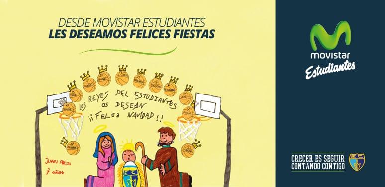 Desde Movistar Estudiantes les deseamos ¡FELICES FIESTAS!
