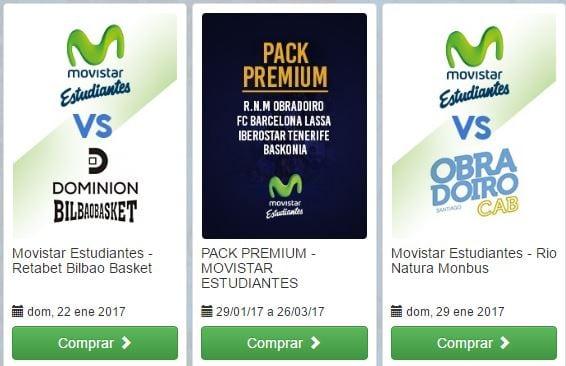 Desde 10 euros las entradas para los partidos contra Bilbao Basket y Obradoiro