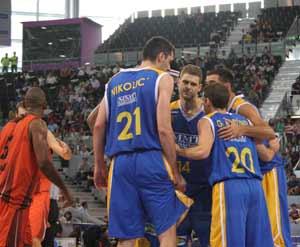 EL `ESTU´ COMIENZA SU PARTICIPACIÓN EN LA FIBA CUP