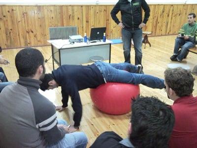 Empieza el V Curso de prevención de lesiones