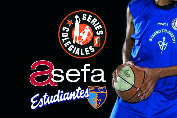 Series Colegiales: siguiente ronda y presentación en el partido ACB