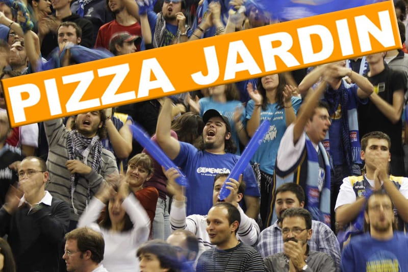 Sigue la Copa en Pizza Jardín con precios estudiantiles