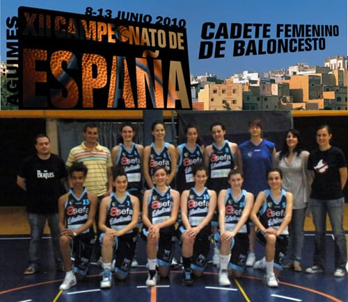 El Cadete Femenino, bronce en el Campeonato de España (70-69)