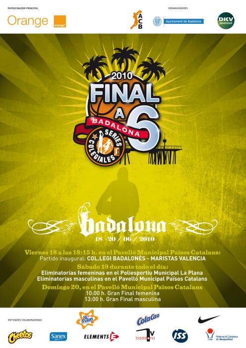 Fase Final Series Colegiales ACB (horarios)