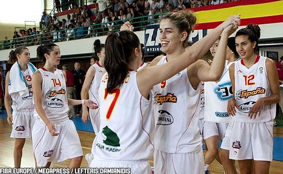 Europeo sub16 (F): España, 5ª en el Europeo
