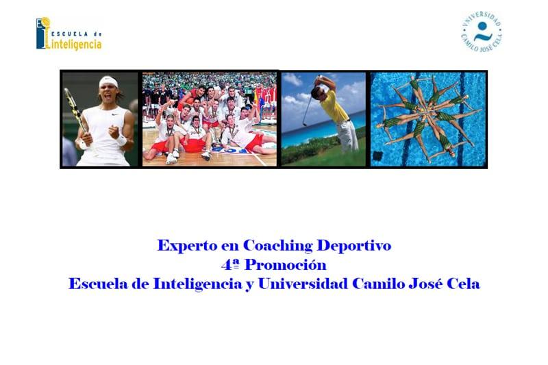 Becas para el Club Estudiantes en Experto en Coaching Deportivo (Escuela de Inteligencia y UCJC)