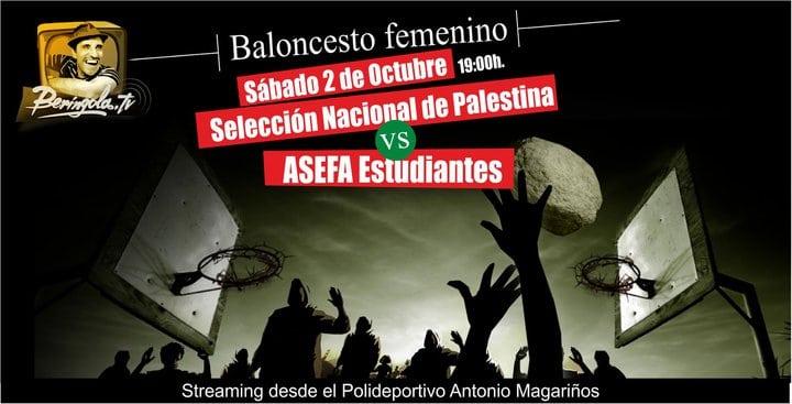 El Asefa Estu LF2- Palestina se podrá ver en directo en internet