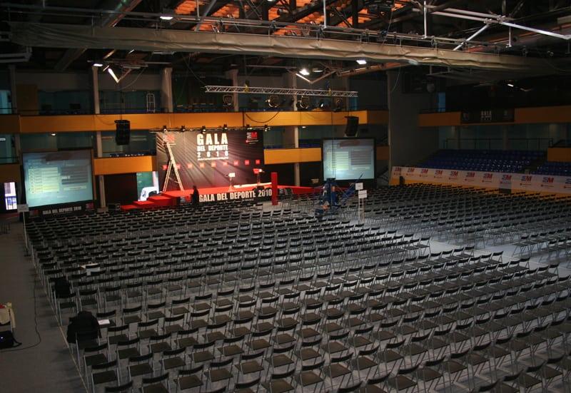 El Magariños se prepara para acoger la Gala del Deporte de la Comunidad