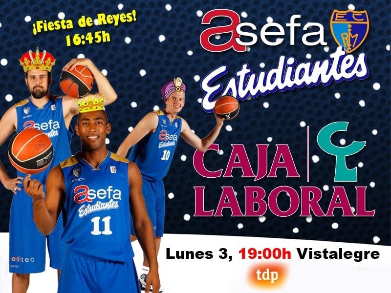 Asefa Estu quiere regalarse por Reyes una victoria ante el campeón (lunes, 19:00h)