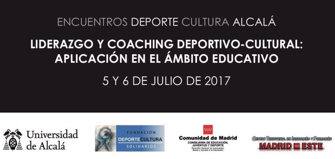 """Fernando Galindo, en los Encuentros """"Deporte-Cultura"""" de la Universidad de Alcalá"""