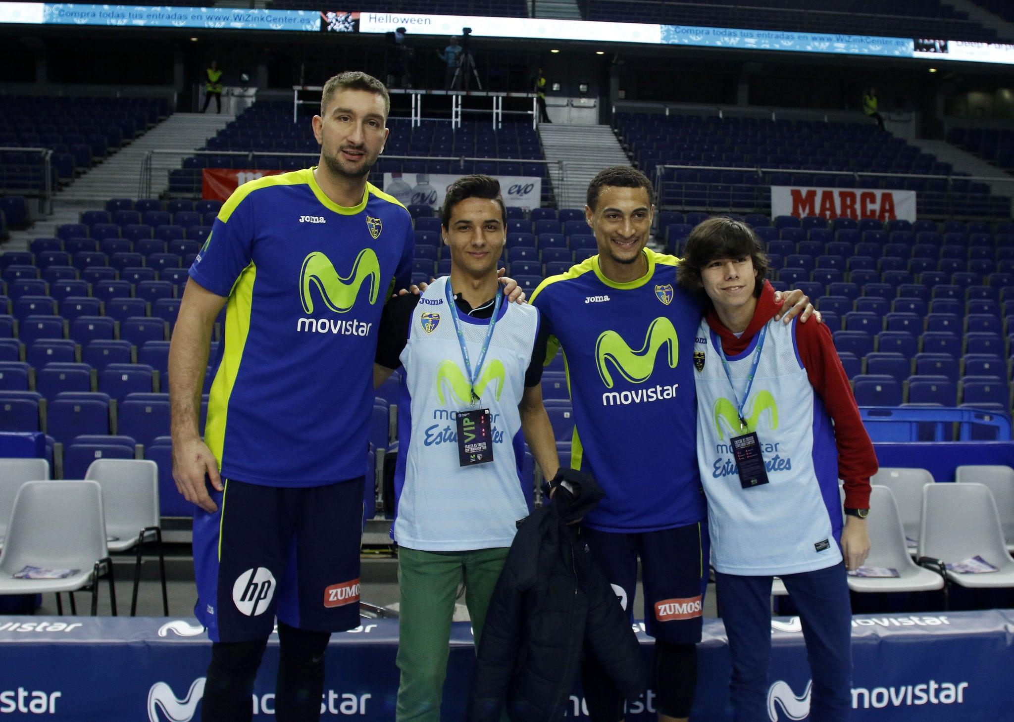 Así fue la experiencia VIP de Alejandro y Miguel con #ViveMovistar