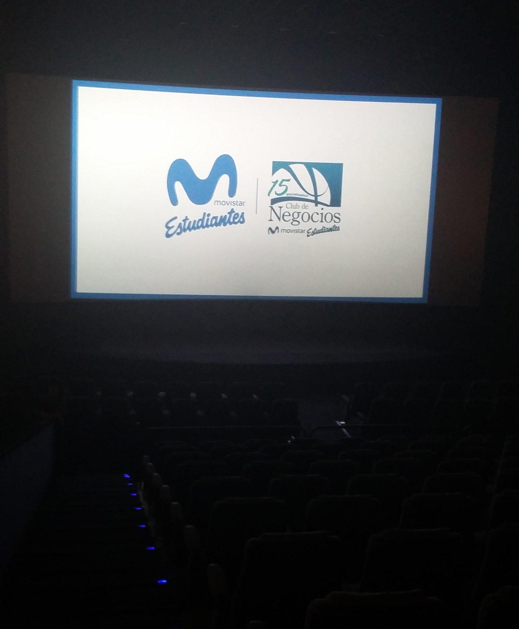 Pase privado de cine para el Club de Negocios Movistar Estudiantes