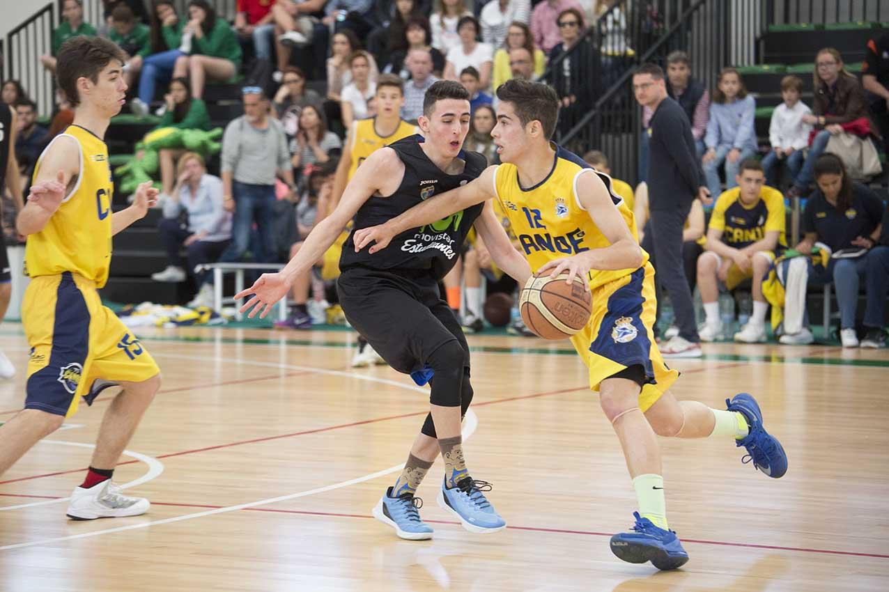 Dos campeonatos y dos subcampeonatos, la pesca de la cantera de Movistar Estudiantes en el Ebro en los torneo MHL Sports