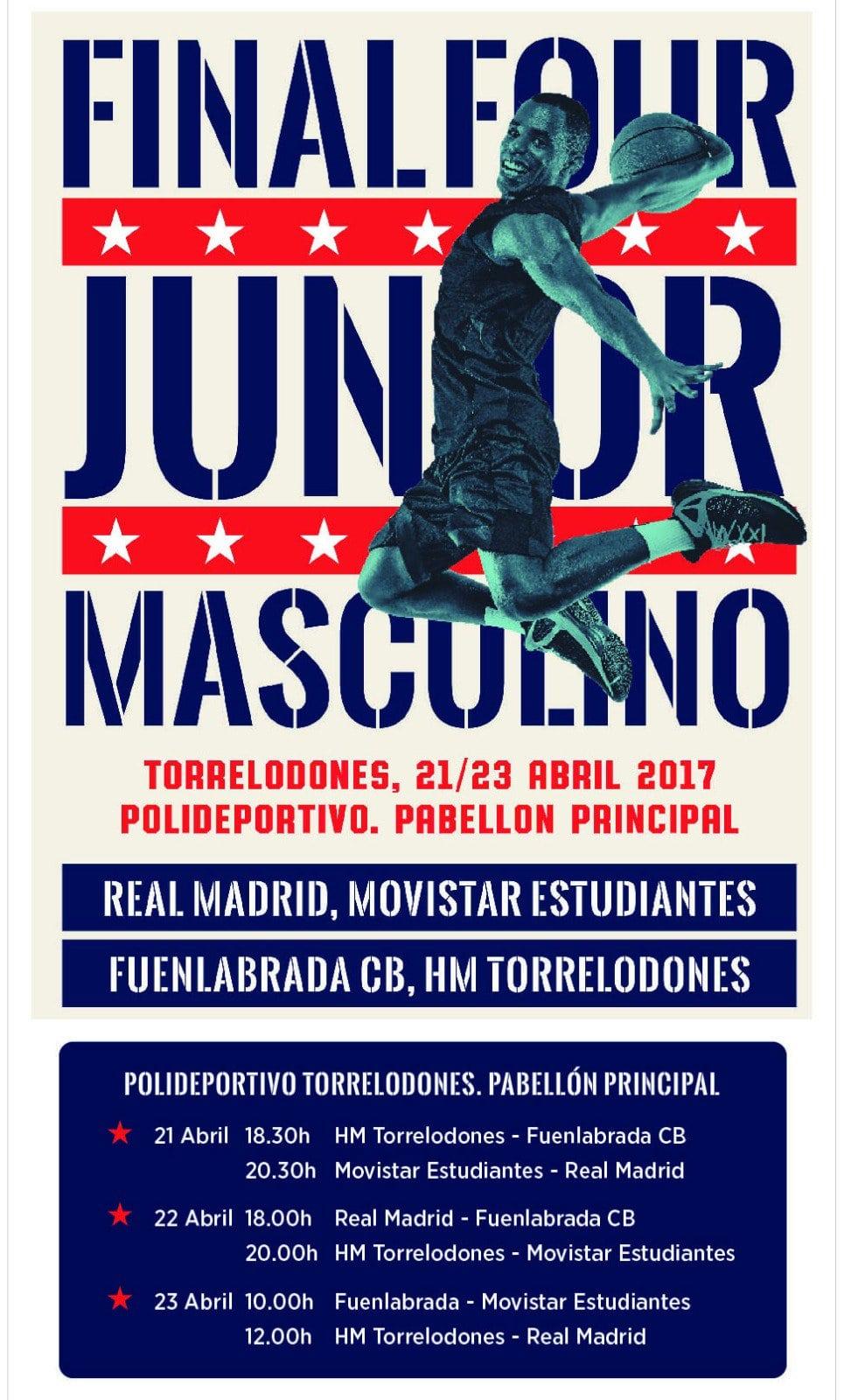 Fase Final Junior Masculino de Madrid: 21 al 23 de abril, Torrelodones