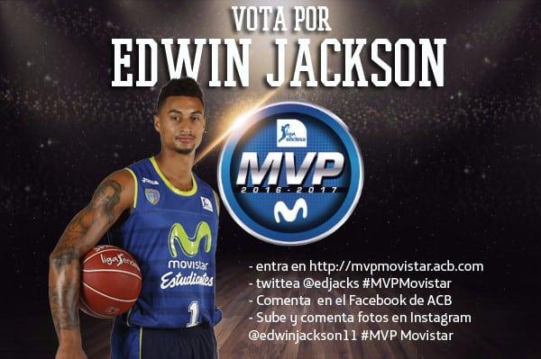 ¡Vota por Edwin Jackson como #MVPMovistar en redes sociales!