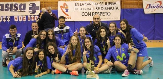 ¡Campeonas de Madrid junior femenino… y al campeonato de España por la puerta grande!