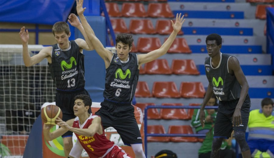 ¡A cuartos de final! Movistar Estudiantes supera al UCAM Murcia (66-38) y espera rival en el Campeonato España Junior Masculino