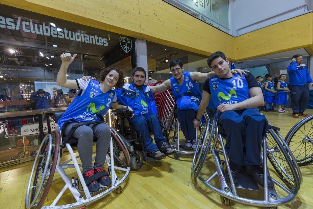 EstuAMEB, el equipo de baloncesto en silla de ruedas de Movistar Estudiantes, de torneo