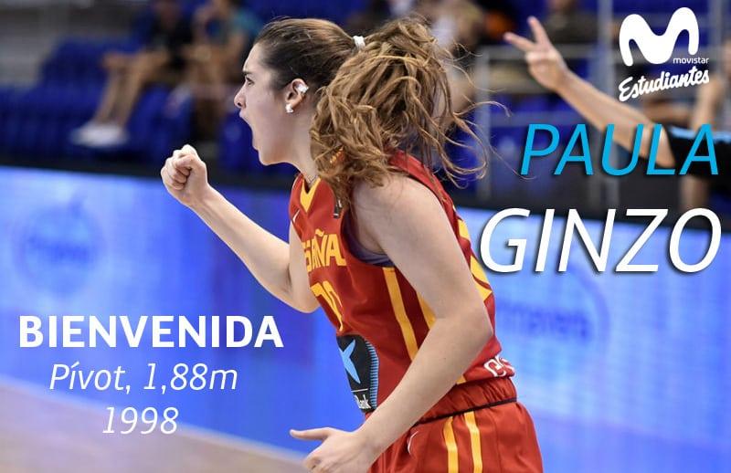 Paula Ginzo, primer fichaje de Movistar Estudiantes para la temporada 2017-18 en Liga Femenina