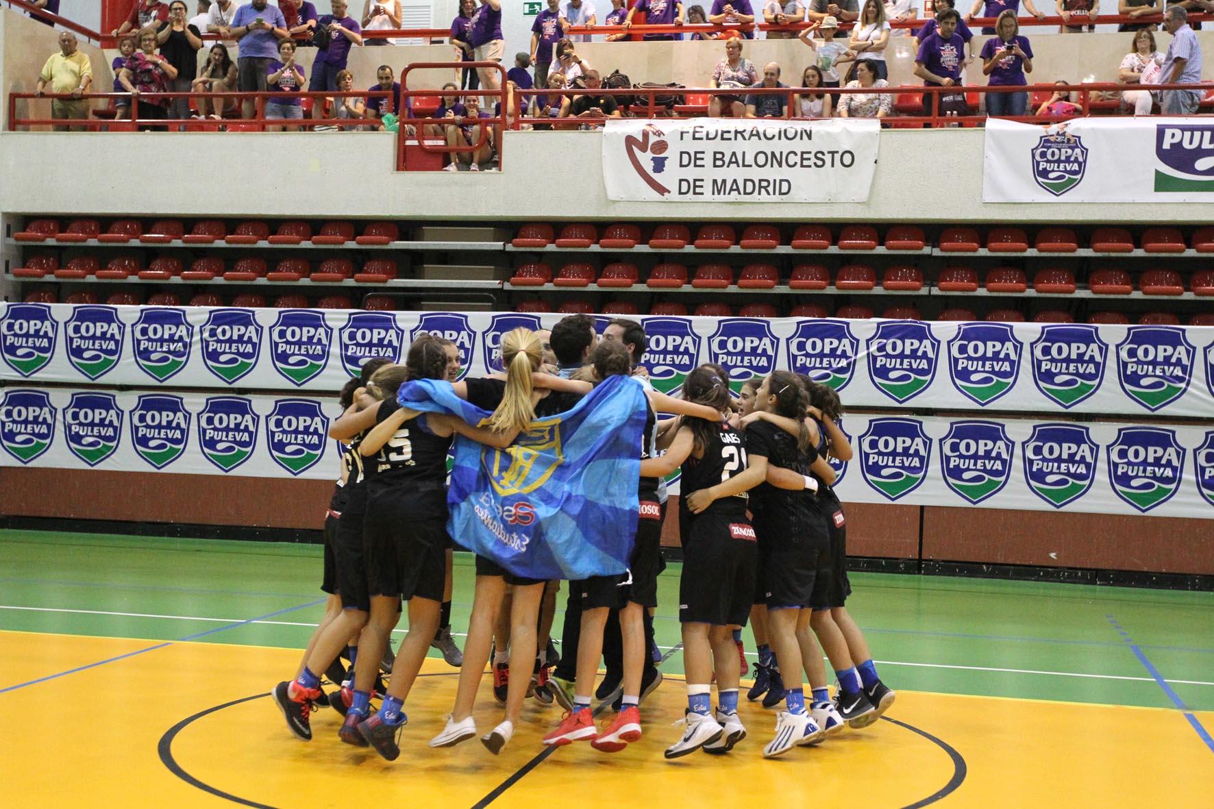 El Alevín Mariana disputar este domingo la copa Puleva, el campeonato de España oficioso de minibasket