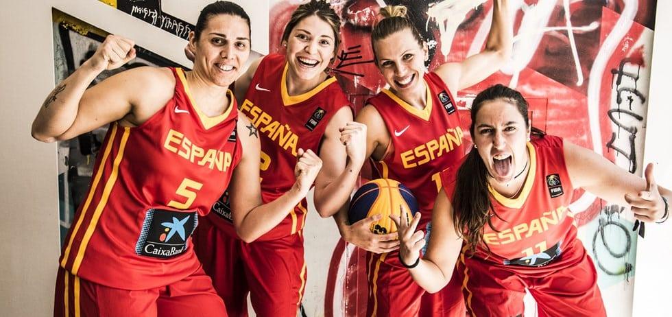 Octavo puesto en el Mundial 3×3 femenino, con la presencia de Celia Menéndez