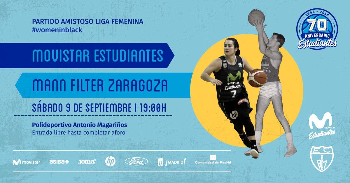 Magariños acoge el sábado la primera prueba del Liga Femenina (vs Mann Filter, 19h, entrada libre)