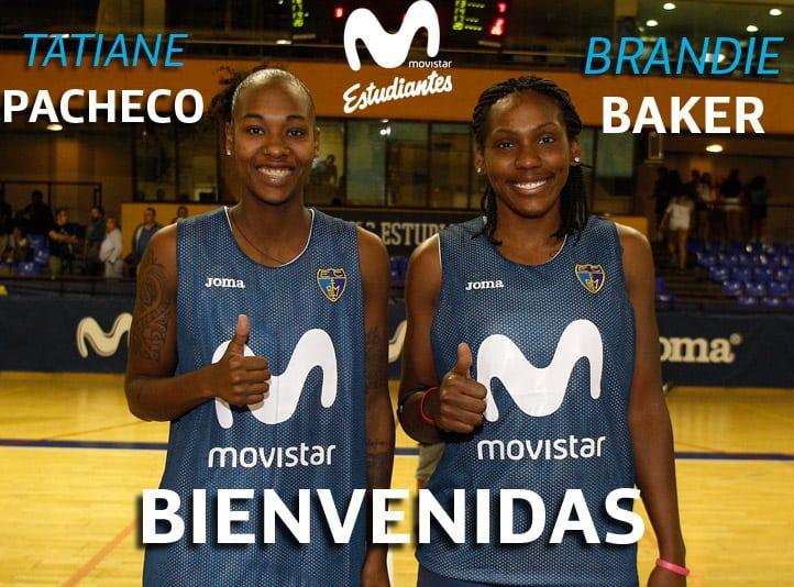 Brandie Baker y Tatiane Pacheco: talento y trabajo para Movistar Estudiantes desde Brasil