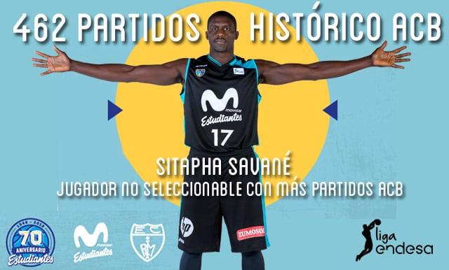 Savané, histórico ACB: jugador no seleccionable con más partidos