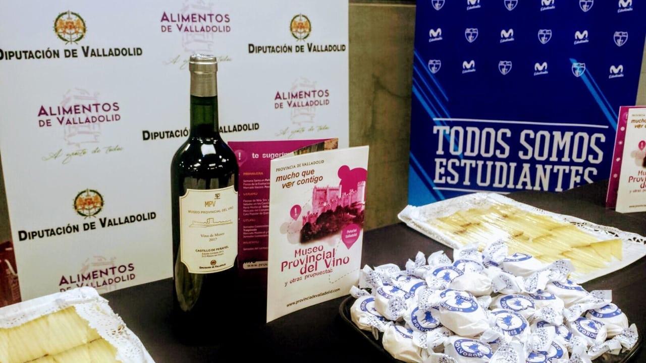 Alimentos de Valladolid acompañó a Movistar Estudiantes en el triunfo ante F.C. Barcelona Lassa
